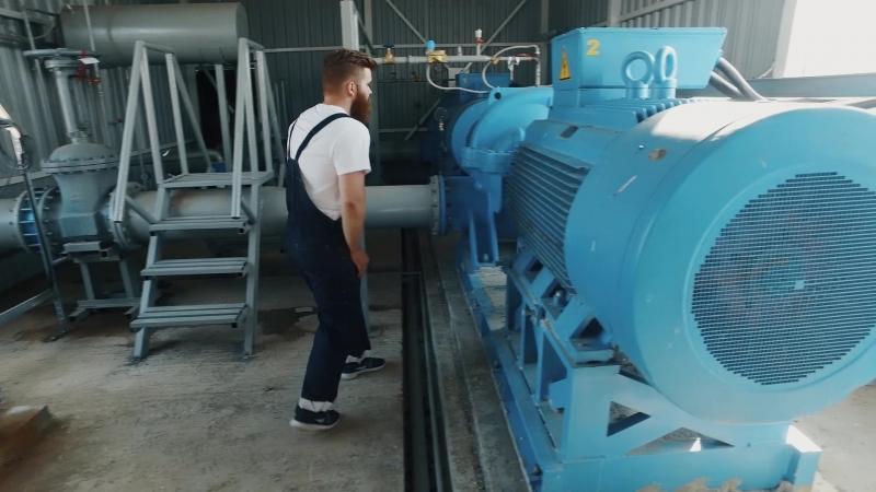 Проект Биотерра ирригация Саратовская обл референс объект Grundfos