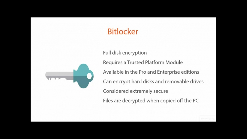 06_12-Using Bitlocker and Bitlocker To Go Encryption Introduction
