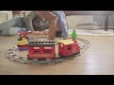 Lego DUPLO Town Поезд на паровой тяге 10874