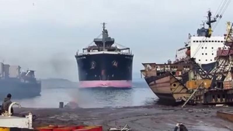 Последний гудок , как умирают корабли