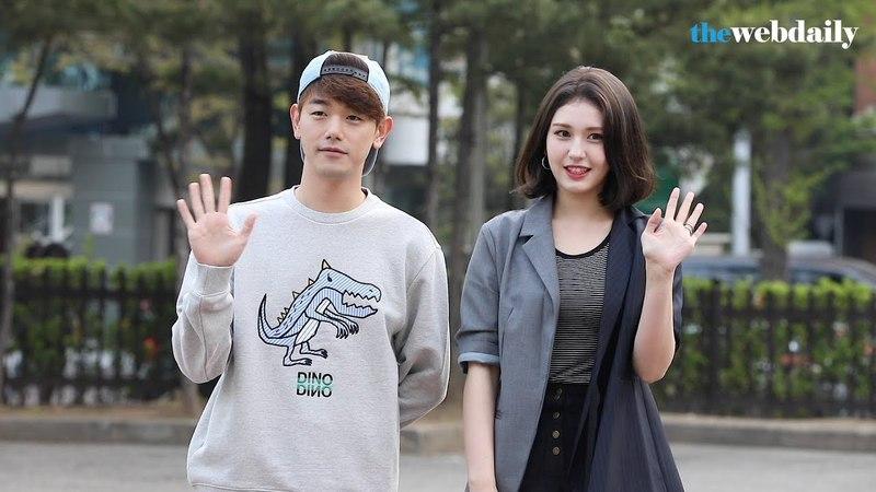 [WD영상] 에릭남-전소미 4월 20일 뮤직뱅크 925회 아침 리허설 출근길
