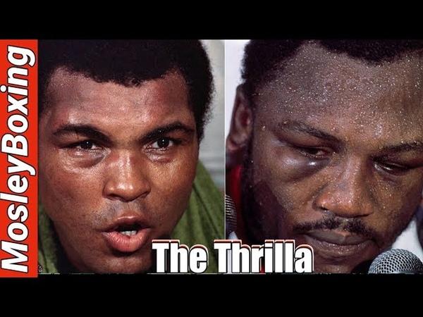 Muhammad ALI vs Joe FRAZIER THRILLA In MANILA Zack Hemsey VENGEANCE
