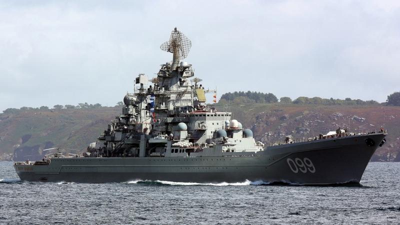 ☆Super Russian☆ Атомный ракетный крейсер «Петр Великий»