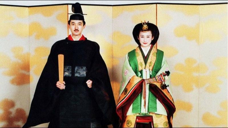 Свадьба Принца Японии Акисино (Фумихито) и Кико Кавасимы, 29 июня 1990г.