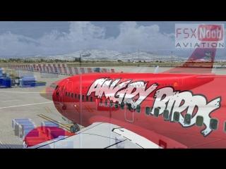 Angry birds plane fsx hd