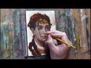 Romantic Portrait Painting Demo