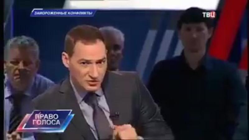 Həmyerlimiz Rusiya efirində erməni aparıcını və iştirakçıları belə susdurur!