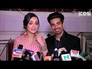 Sanaya Irani And Mohit Sehgal At Dipika Kakar And Shoaib Ibrahim Wedding Recepti