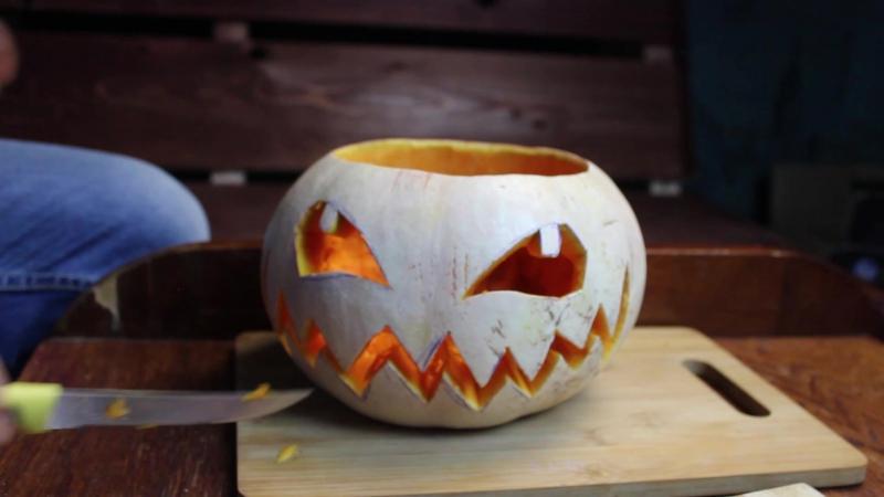 Подготовка к Хеллоуину!