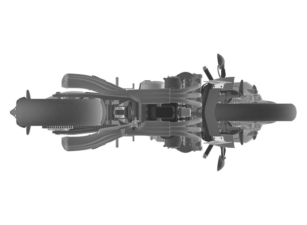 Патентные рисунки Honda CBX