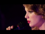 Taylor Swift - Enchanted (Live on NBC)