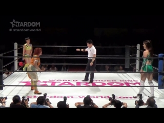 01 Hanan vs. Kaori Yoneyama vs. Zoe Lucas
