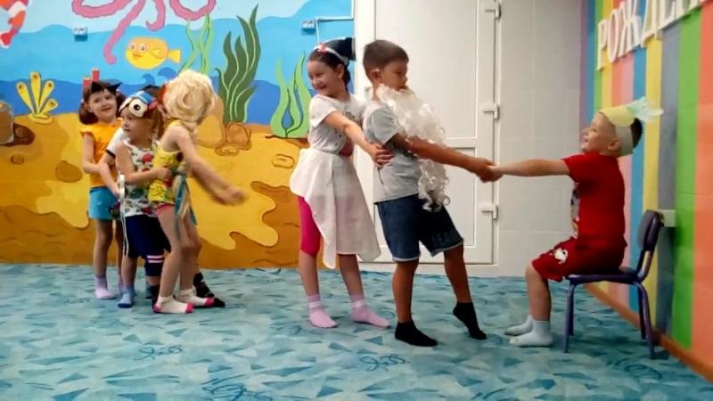 ЛЕТО в сети детских центров КУБИКИ Пятая неделя