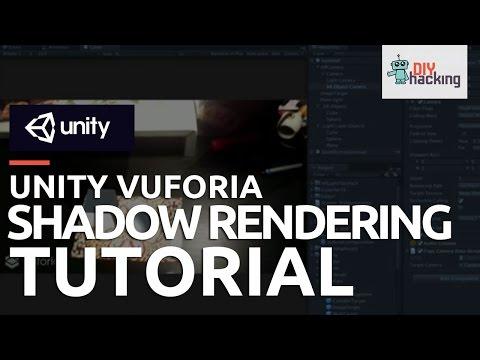 Unity Vuforia Shadow Rendering Tutorial