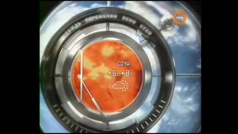 РЕН ТВ Прогноз погоды без ведущей (Январь, 2008)