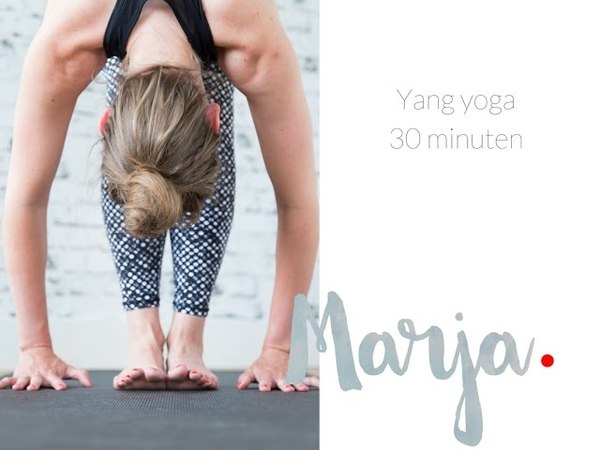 Yang yoga - 30 minuten