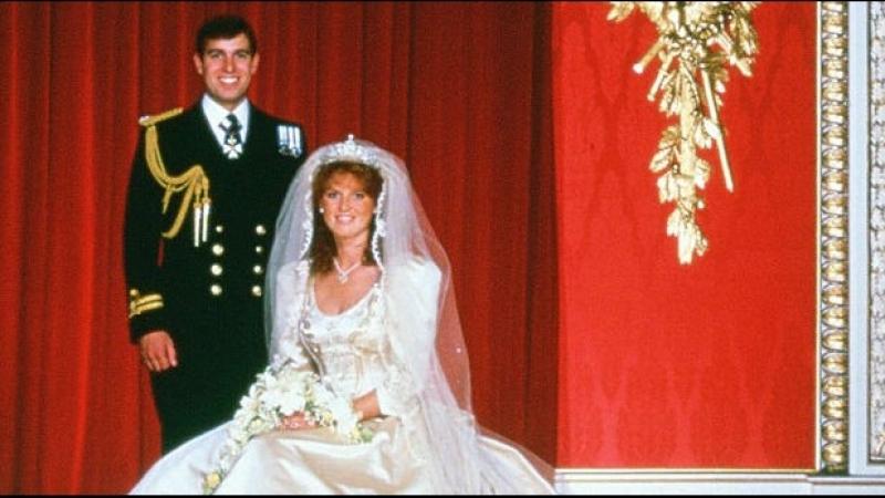 Свадьба Принца Великобритании Эндрю и Сары Фергюсон, 23 июля 1986 г.