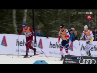 Johannes Høsflot Klæbo GREAT SPURT WIN - Mens Sprint [C] Final - Lillehammer 2017