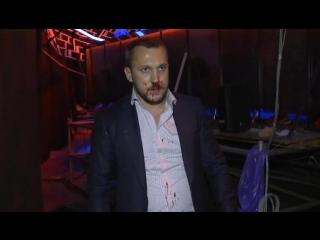 Бывший командир Айдара устроил драку с депутатом Рады после прямого эфира