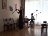 Инструментальный дуэт Емельянова Марина и Емельянов Алексей.