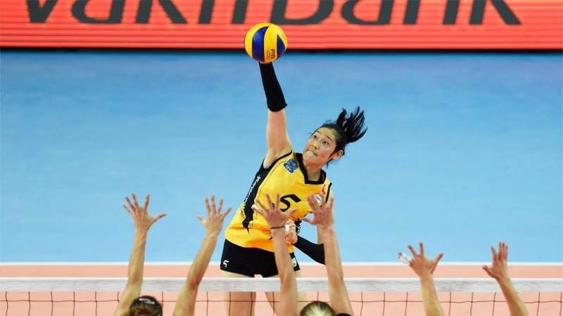 The Best Female Volleyball Player in the World - Zhu Ting (朱婷)