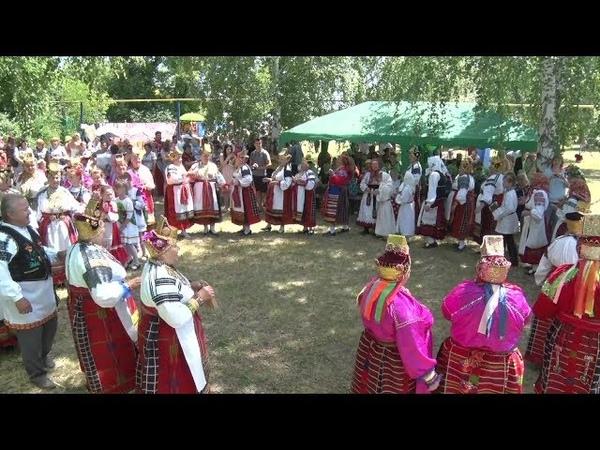 В селе Боровое Новооскольского района прошел фольклорный фестиваль Летний карагод