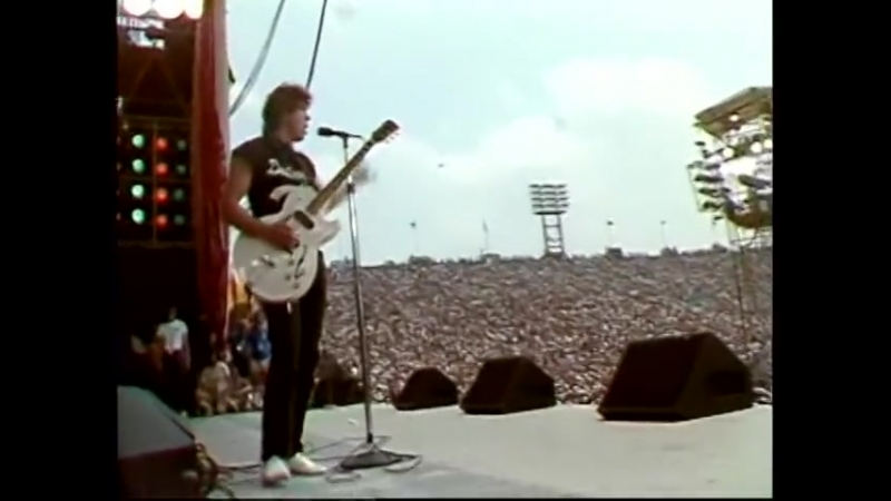 George Thorogood The Destroyers Live AID 1985