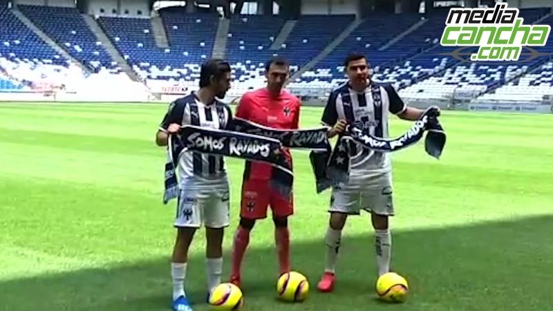 Pizarro presentado con Rayados
