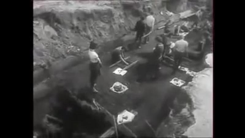 Калинин. Археологические раскопки.