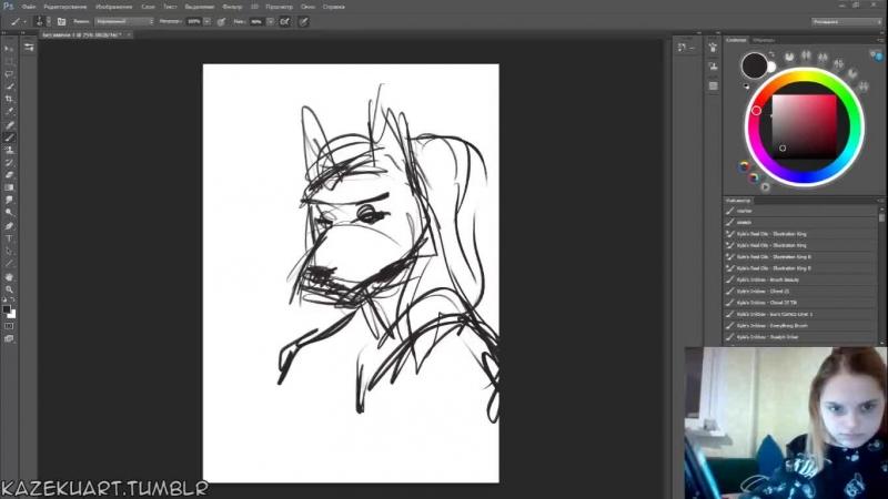 пытаюсь рисовать не отвлекаясь :D