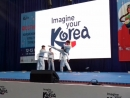 Корейская тхэквондо группа K-Tigers, корейские тигры. Выступление в Платинум арене, Хабаровск. 12.05.2018