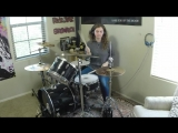 Royal Blood Out of the Black a drum cover by Emily