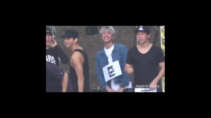 U-KISS - AMN Rehearsal fancam (06.10.16)
