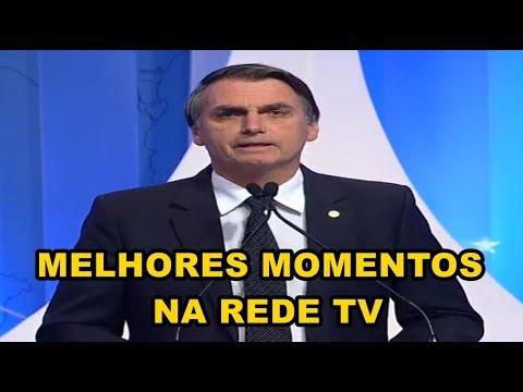 Jair Bolsonaro l Melhores Momentos l Debate RedeTV (17/08/2018)