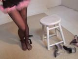 Black PANTYHOSE  [колготки дувушка показывает попу трусики чулки 2017 не порно sissy trans русское домашнее ass ножки фетиш