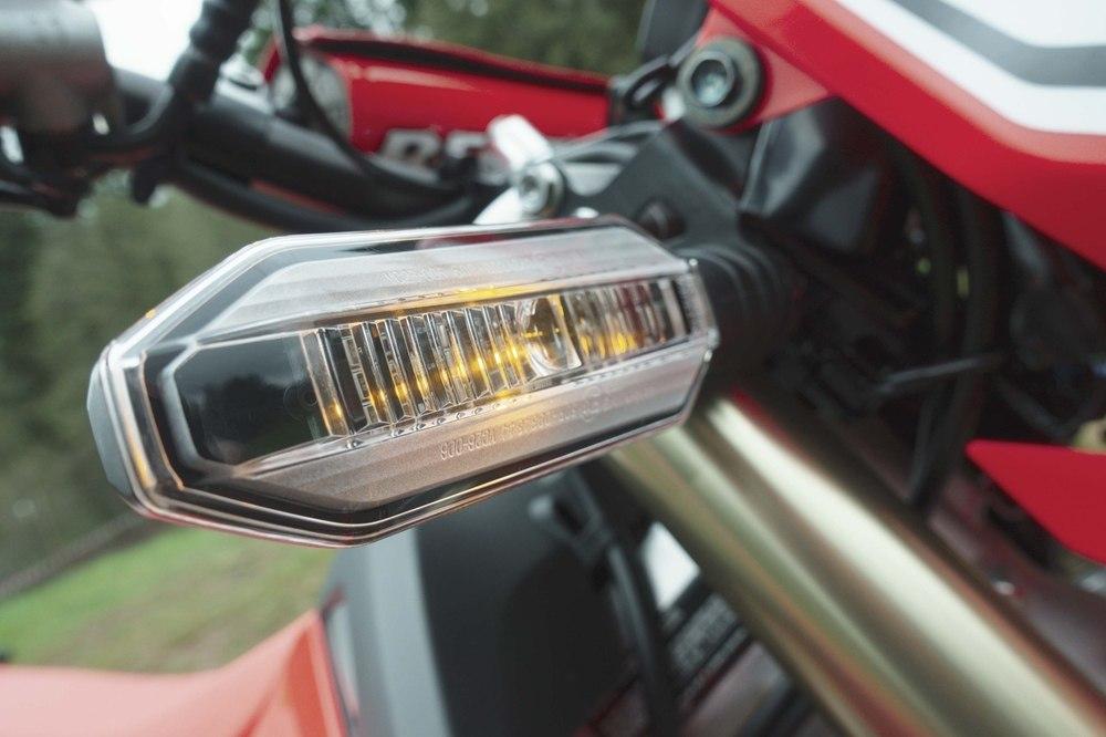 Новый эндуро Honda CRF450L 2019