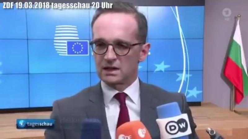 Kriegshetzer Heiko Maas lügt