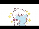 In the mood for a hug - RJ KOYA BT21