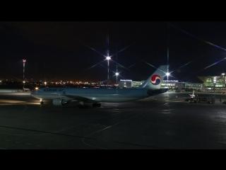 Korean Air в Пулково - 19 апреля 2018 года