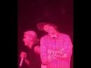 PVRIS No Mercy live in Albany NY 03 05 2018 Lynn Gunn and cardboard Harry Styles