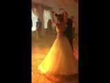 Первый танец молодых. Свадьба Саши и Ирины, 13 июля 2018