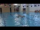 Выступление на синхронном плаваньи