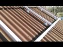 Монтаж солнечных панелей на ондулин