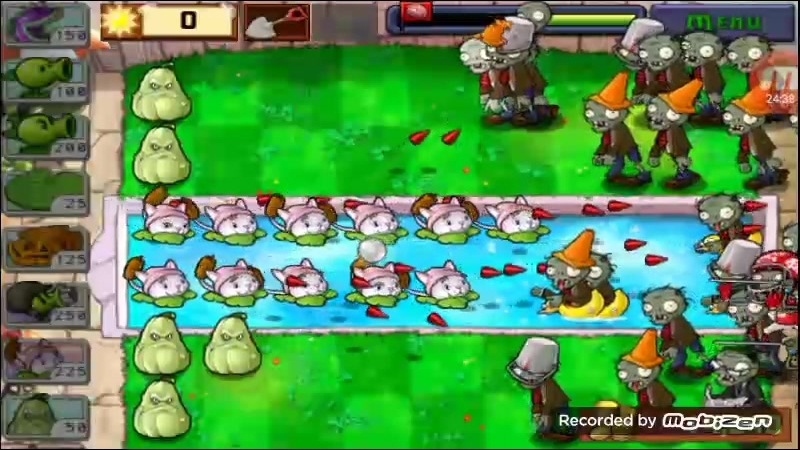 Тактики для прохождения last stand Plants vs zombies 23
