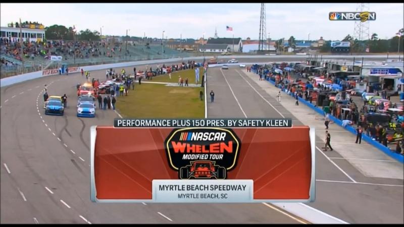 2018 NASCAR Whelen Modified Tour Round 01 Myrtle Beach 150