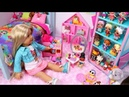 Baby Doll Bedroom for LOL Surprise Dolls Play dollhouse setup for little outrageous littles toys