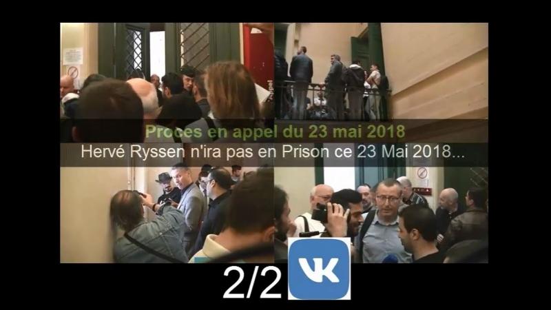 Procès en appel du 23 mai 2018 de Hervé Ryssen 2 2