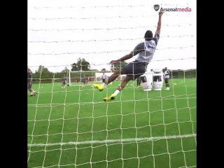 The goalkeeper from Gabon 🇬🇦
