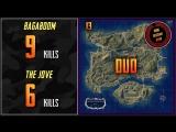 PUBG RUSSIAN RANK BagaBoom, The Jove 15 Kills AS DUO PLAYERUNKNOWN'S BATTLEGROUNDS #13