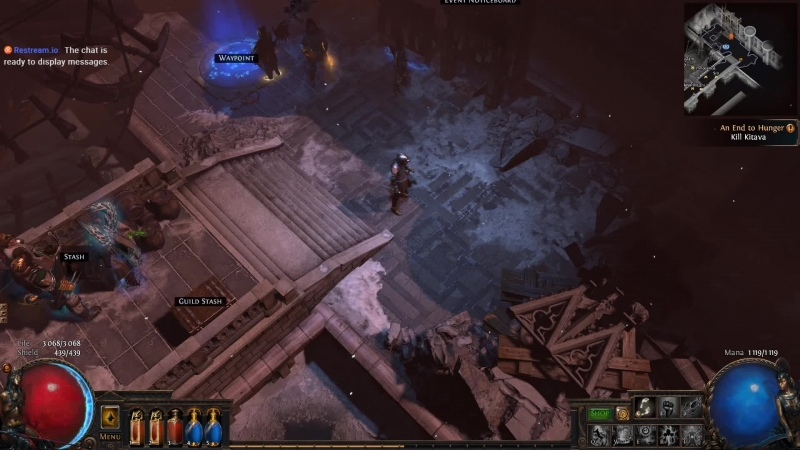 Path of Exile The Incursion\Traper vs Hordes of monsters